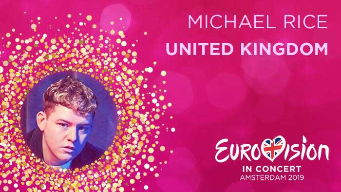 Michael Rice - United Kingdom 2019