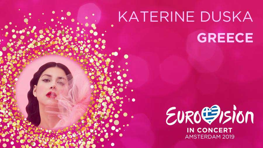 Katerine Duska from Greece 2019